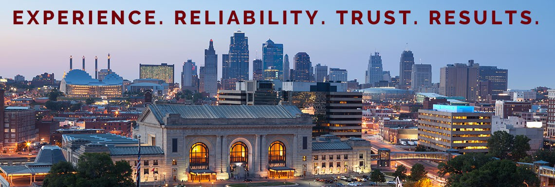 Experience. Reliability. Trust. Results.